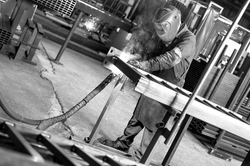 fabrication de barrières et garde-corps dans les ateliers Rousseau