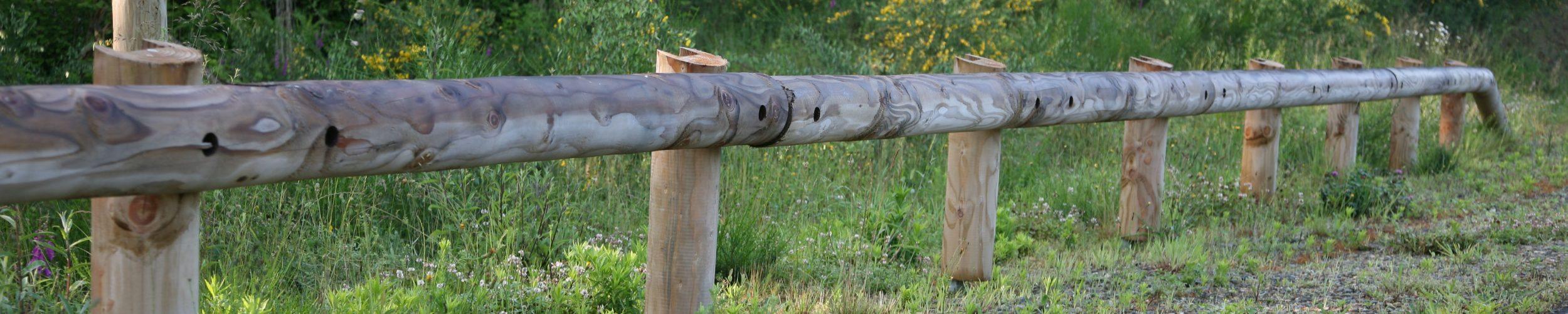 glissière de sécurité bois