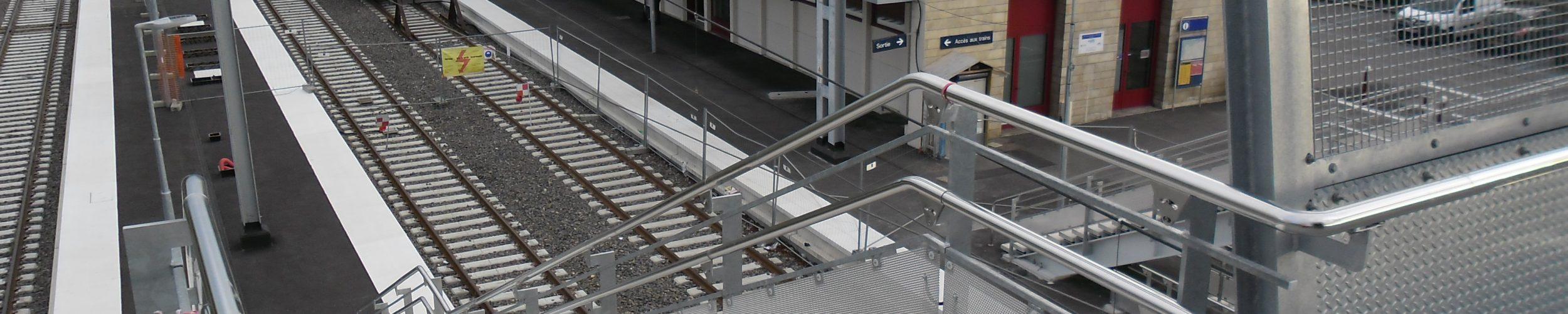 aménagements de gare - rousseau