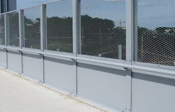 Protection caténaire verticale