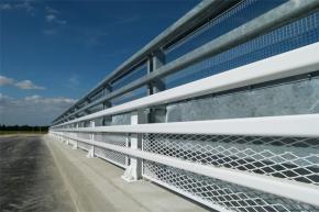 protection caténaire verticale sous forme de réhausse