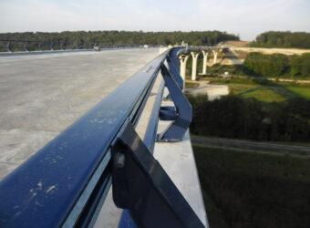 ROUSSEAU barrière de sécurité type H2 (routeviaduc sur la SCIE (1)