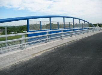 Barrière Ovalie H2 avec protection caténaire
